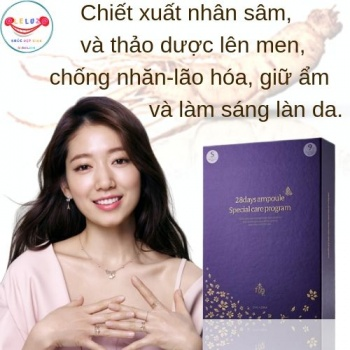 Chống Nhăn-Lão Hóa Guboncho 28 Days Ampoule Special Care Program